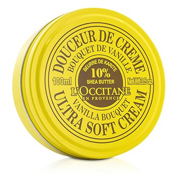 L'Occitane Shea Butter Crema Ultra Suave - Vanilla Bouquet  100ml/3.5oz
