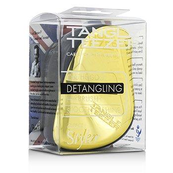 タングルティーザー コンパクトスタイラー オンザゴー ディタングリング ヘアブラシ - #ゴールドラッシュ  1pc