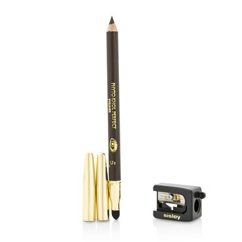 Sisley Phyto Khol Perfect Eyeliner (With Blender and Sharpener) - #10 Ebony  1.2g/0.04oz