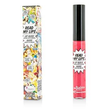 TheBalm Read My Lips (Brillo Labios Con Ginseng) - #Pow!  6.5ml/0.219oz