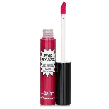 TheBalm Read My Lips (Brillo Labios Con Ginseng) - #Hubba Hubba!  6.5ml/0.219oz
