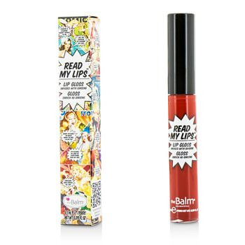 TheBalm Read My Lips (Lip Gloss Infused With Ginseng) - #Wow!  6ml/0.219oz