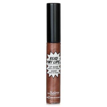 TheBalm Read My Lips (Brillo de Labios con Infusión de Ginseng) - #Ka Bang!  6.5ml/0.219oz