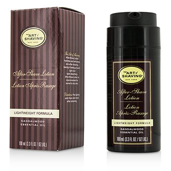 The Art Of Shaving After Shave Lotion - Sandalwood (For Normal to Oily Skin)  100ml/3.3oz