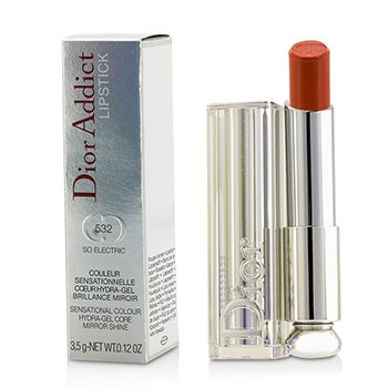 Christian Dior Dior Addict Hydra Gel Core Mirror Shine Color Labios - #532 So Electric  3.5g/0.12oz