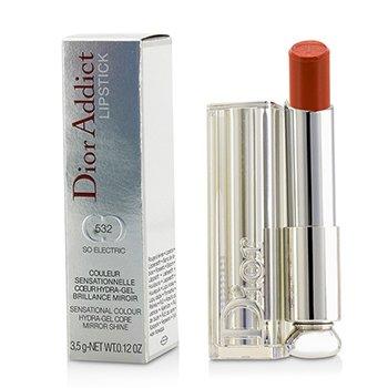 Christian Dior Dior Addict Hydra Gel Core Mirror Shine Lipstick - #532 So Electric  3.5g/0.12oz