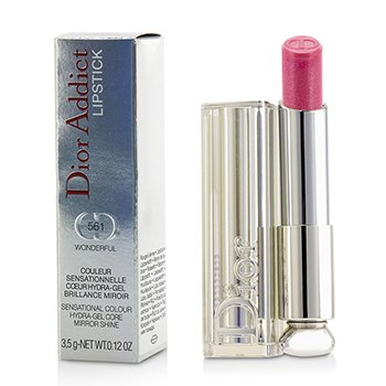 Christian Dior Dior Addict Hydra Gel Core Mirror Shine Color Labios - #561 Wonderful  3.5g/0.12oz