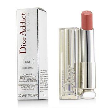 Christian Dior Dior Addict Hydra Gel Core Mirror Shine Lipstick - #643 Diablotine  3.5g/0.12oz