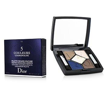 Christian Dior 5 Couleurs Cosmopolite Тени для Век (Ограниченный Выпуск) - # 766 Exuberante  6g/0.21oz