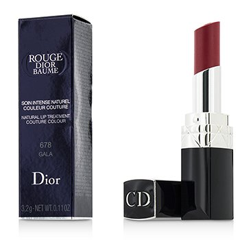 Christian Dior Rouge Dior Baume Natural Tratamiento Labios Couture Colour - # 678 Gala  3.2g/0.11oz