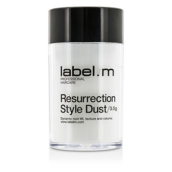 标签M  Resurrection Style Dust (Dynamic Root Lift and Volume)  3.5g/0.12oz