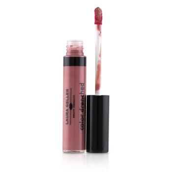Laura Geller Color Drenched Lip Gloss - #Cafe Au Lait  9ml/0.3oz