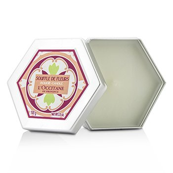 L'Occitane White Blossoms (Souffle De Fleurs) Scented Candle  100g/3.5oz