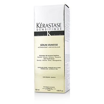 Kerastase Densifique Serum Jeunesse Hair Youth Suero Sin Enjuague (Para Cabello Fino - Alterado por el Tiempo)  120ml/4.06oz