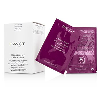 Payot Perform Lift Patch Yeux - Para Piel Madura - Tamaño Salón  20x1.5ml/0.05oz