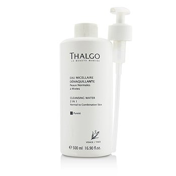 Thalgo Agua Limpiadora 2 en 1 Con Surtidor - Tama�o Sal�n  500ml/16.9oz
