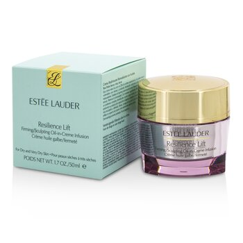 Estee Lauder Resilience Lift Firming/Sculpting Oil-In-Creme Infusion (For Dry & Very Dry Skin)  50ml/1.7oz