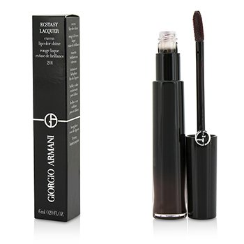 Giorgio Armani Ecstasy Lacquer Excess Lipcolor Shine - #201 Leather  6ml/0.2oz