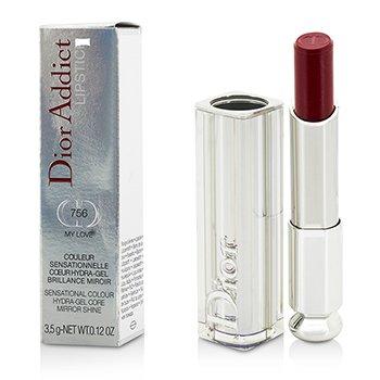Christian Dior Dior Addict Hydra Gel Core Mirror Shine Pintalabios - #756 My Love  3.5g/0.12oz