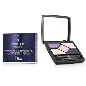 Christian Dior 5 Couleurs Designer All In One Профессиональный Набор для Глаз - # 808 Purple Design  5.7g/0.2oz
