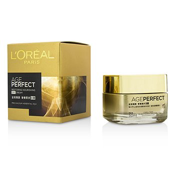L'Oreal ครีมกลางวัน Age Perfect Restoring Nourishing Day Cream  50ml/1.69oz