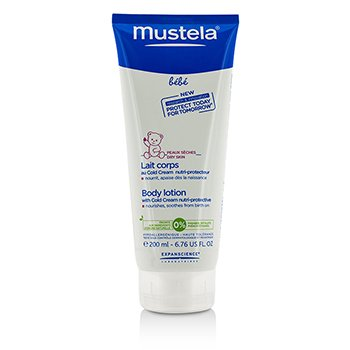 Mustela Body Lotion with Cold Cream nutri-protective  200ml/6.76oz