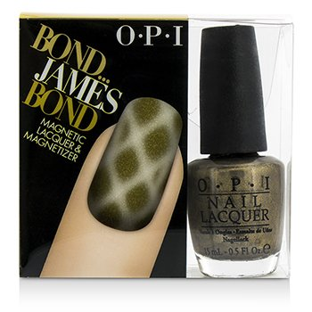 O.P.I Magnetic Lacquers & Magnetizers - #Bond...James Bond