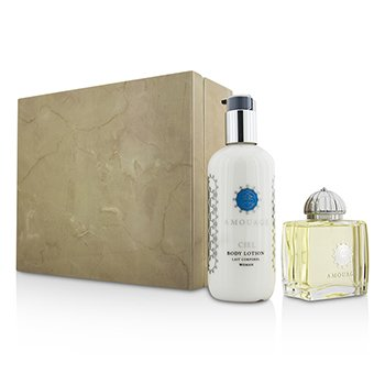 Amouage Ciel Coffret: Eau De Parfum Spray 100ml/3.4oz + Loción Corporal 300ml/10oz  2pcs