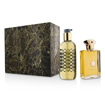 Amouage Dia Coffret: Eau De Parfum Spray 100ml/3.4oz + Gel de Ducha & Baño 300ml/10oz  2pcs