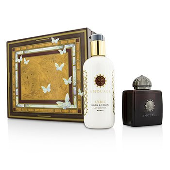 Amouage Lyric Coffret: Eau De Parfum Spray 100ml/3.4oz + Loción Corporal 300ml/10oz  2pcs