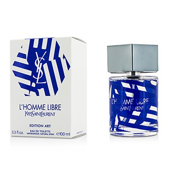 Yves Saint Laurent L'Homme Libre Eau De Toilette Spray (Edición Arte)  100ml/3.3oz