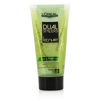 L'Oreal Professionnel Dual Stylers by Tecni.Art Liss & Pump-Up (Volume 2)  150ml/5oz