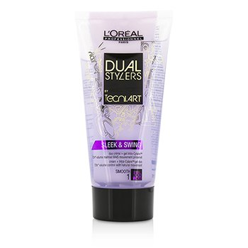 L'Oreal Professionnel Dual Stylers by Tecni.Art Sleek & Swing (Smooth 1)  150ml/5oz