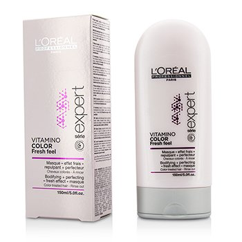 L'Oreal Professionnel Expert Serie - Vitamino Color Fresh Feel Bodifying + Perfecting <Fresh Effect> Mascarilla - Enjuague  150ml/5oz