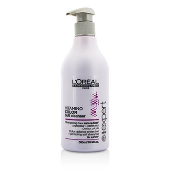 歐萊雅 Professionnel Expert Serie - Vitamino Color Soft Cleanser Color Radiance Protection + Perfecting Soft Shampoo  500ml/16.9oz
