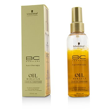 Schwarzkopf BC Oil Miracle Liquid Oil Conditioner (For Fine to Normal Hair)  150ml/5oz