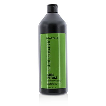 Matrix Total Results Curl Please Jojoba Oil Shampoo (For Nurturing Curls)  1000ml/33.8oz