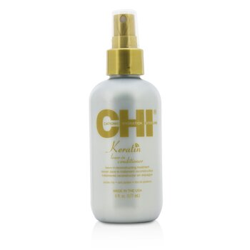 CHI Keratin Leave-In Conditioner Tratamiento Reconstituyente Sin Enjuague  177ml/6oz