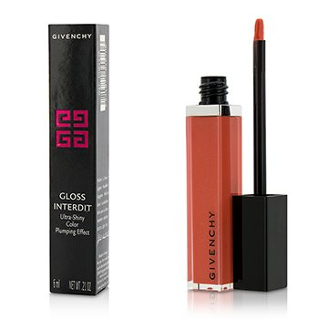 Givenchy Gloss Interdit Ultra Shiny Color Plumping Effect - # 26 Blooming Coral  6ml/0.21oz