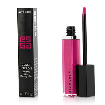 Givenchy Gloss Interdit Color Ultra Brillante Efecto Densificante - # 36 Private Fuchsia  6ml/0.21oz