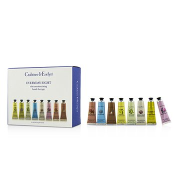 Crabtree & Evelyn Everyday Eight Ultra-Moisturising Hand Therapy Set  8pcs