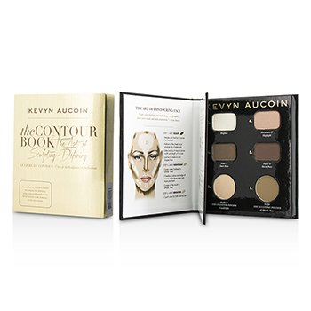 Kevyn Aucoin The Contour Book The Art of Sculpting + Defining (3x Eyeshadow, 1x Sculpting Powder, 2x Celestial Powder)