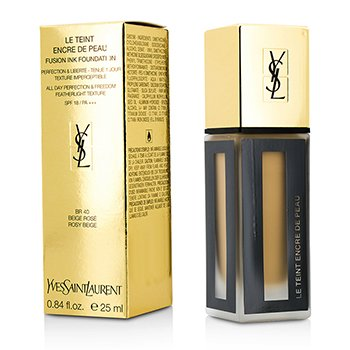 Yves Saint Laurent Le Teint Encre De Peau Fusion Ink Base  SPF18 - # BR40 Rosy Beige  25ml/0.84oz