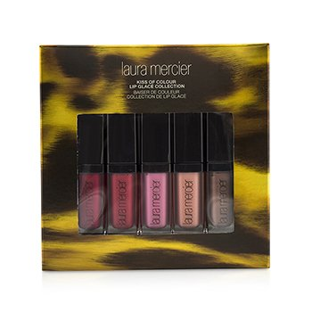 Laura Mercier Kiss of Colour Lip Glace Collection (5x Mini Lip Glaze)  5pcs