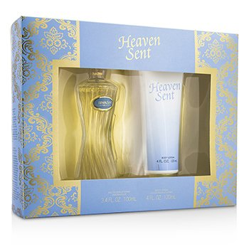 Dana Heaven Sent Coffret: Eau De Parfum Spray 100ml/3.4oz + Loción Corporal 120ml/4oz  2pcs