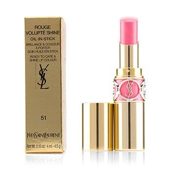 Yves Saint Laurent Rouge Volupte Shine - # 51 Rose Saharienne  4.5g/0.15oz