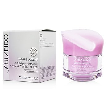 Shiseido White Lucent MultiBright Crema Noche  50ml/1.7oz