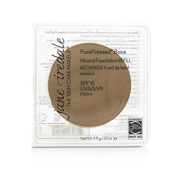 Jane Iredale PurePressed Base Mineral Foundation Refill SPF 15 - Velvet  9.9g/0.35oz