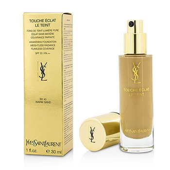 Yves Saint Laurent Touche Eclat Le Teint Awakening Foundation SPF22 - #BD40 Warm Sand  30ml/1oz