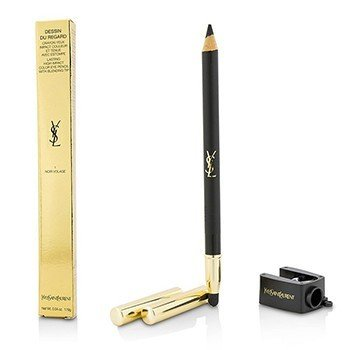 Yves Saint Laurent Dessin Du Regard Lasting High Impact Color Eye Pencil - # 1 Noir Volage  1.19g/0.04oz